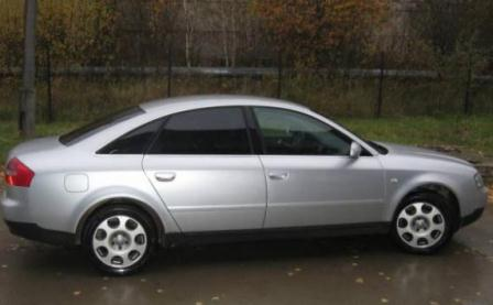 Audi A6 2002 года выпуска