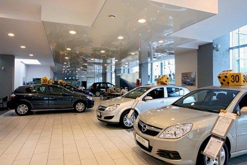Автосалон автомобильной марки Opel