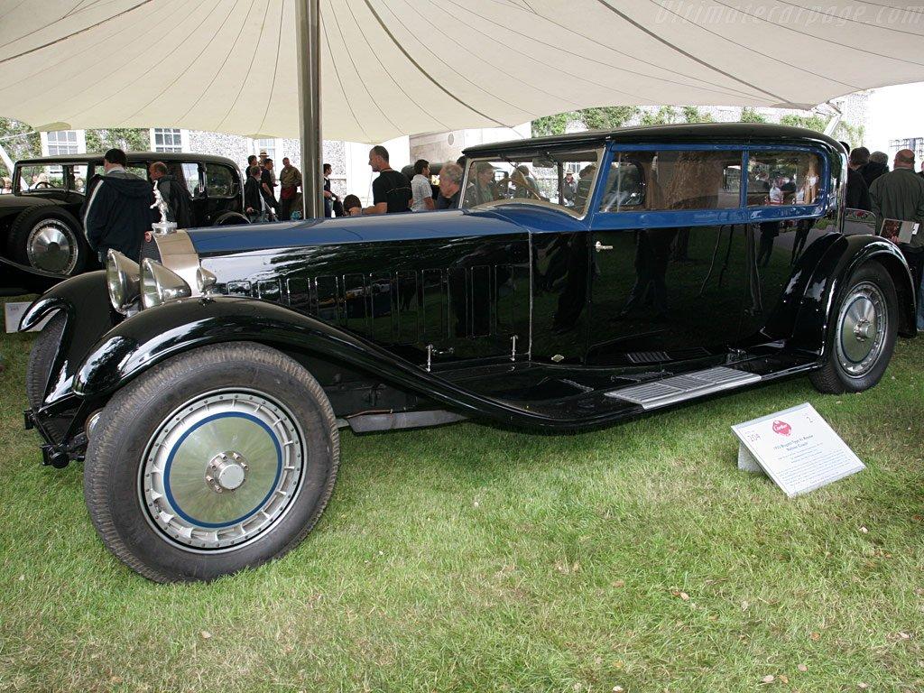 Bugatti Type 41 Royale Kellner Coupe - обошлась владельцу в $9,7 млн.