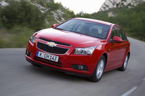 Chevrolet cruze - авто, набирающее популярность на российском рынке