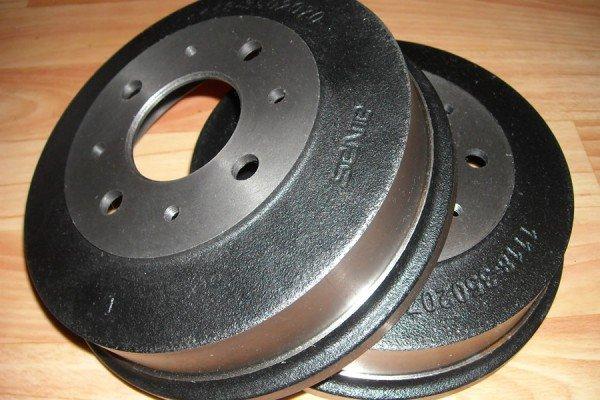 Чугунный тормозной барабан