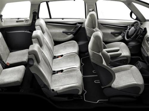 Салон Citroen C4 Grand Picasso