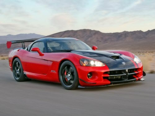 Dodge Viper для спортивных мужчин