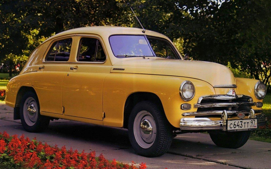 ГАЗ М20 - также называлась Победа