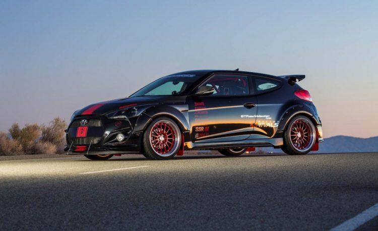 Концепт Hyundai Veloster Turbo Blood Type Racing продемонстрировали осенью 2015 года