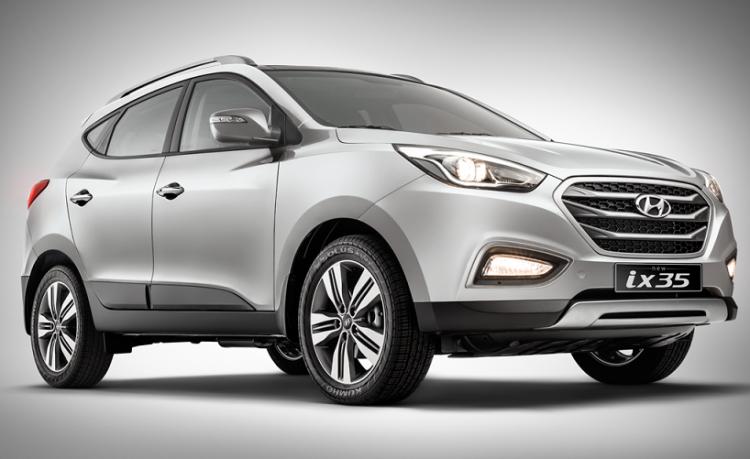 Hyundai IX35 2016-2017 года в новом кузове