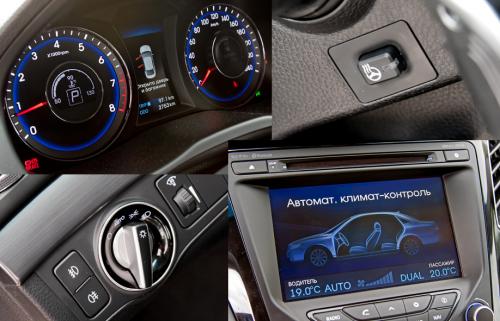 Уникальные возможности панели приборов Hyundai i40