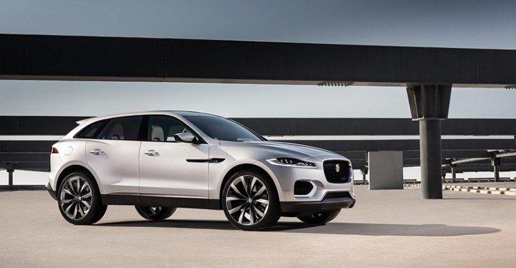 Jaguar F-Pace 2017 модельного года