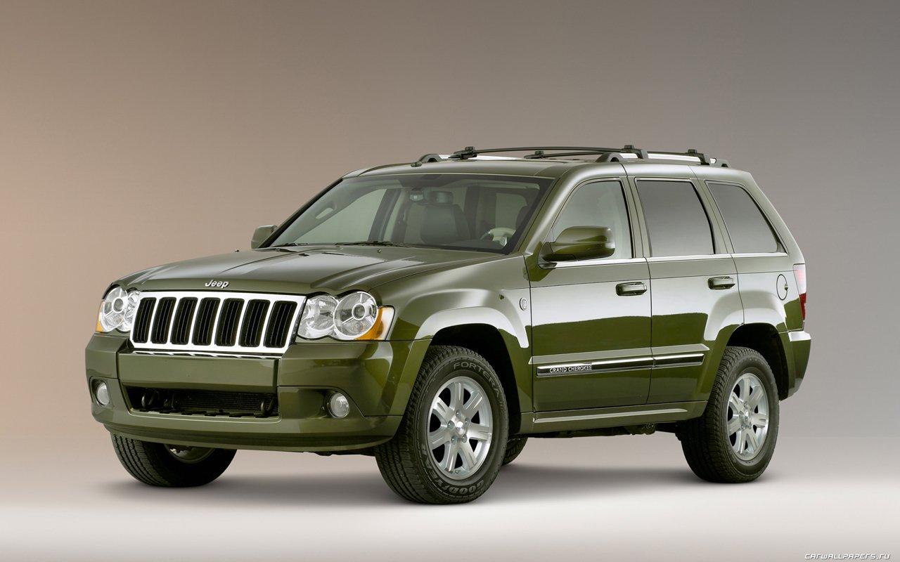 Кроссовер Jeep Grand Cherokee