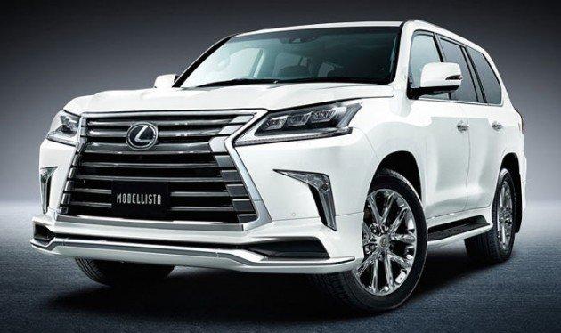 На фото - Lexus lx 570 2020-2021 new