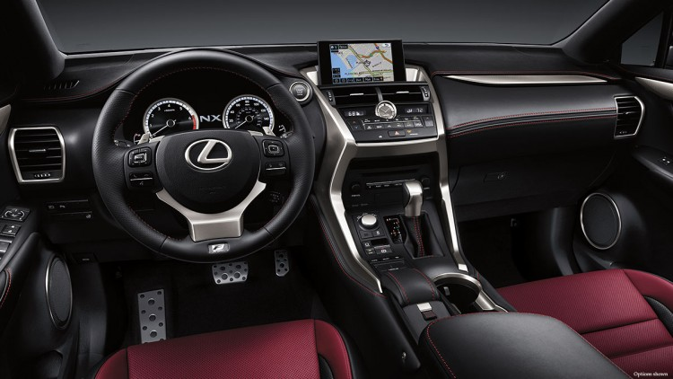 Салон Lexus NX 200