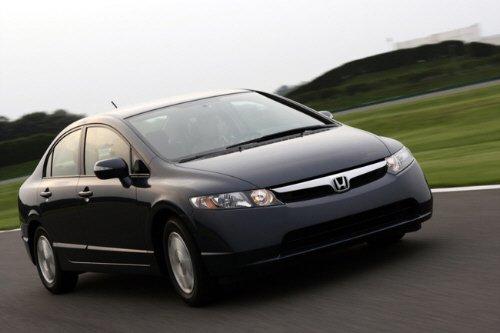 Любимый американцами японский седан Honda Civic