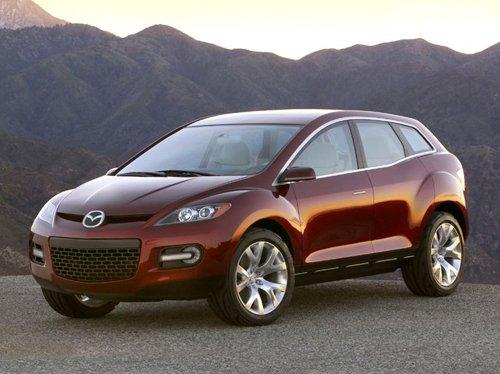 Mazda CX7 прекрасный подарок для милых дам