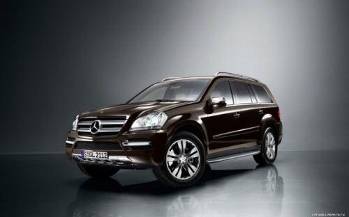 Mercedes-Benz GL-Class – стиль и элегантность