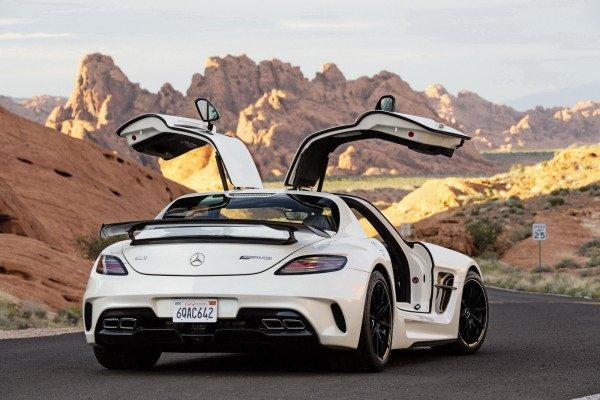 тест драйв Mercedes SLS AMG