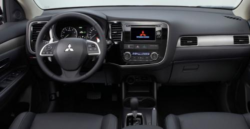 Передняя панель Mitsubishi Outlander XL 2012