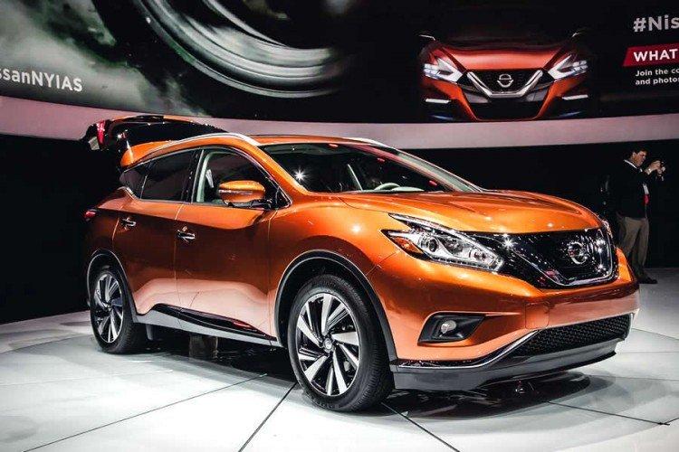 Nissan Murano 2020-2021 на фото
