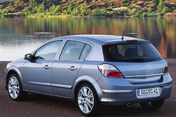 Opel Astra H разболтовка
