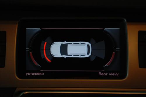 Оригинальный графический дисплей парктроника – акустической парковочной системы