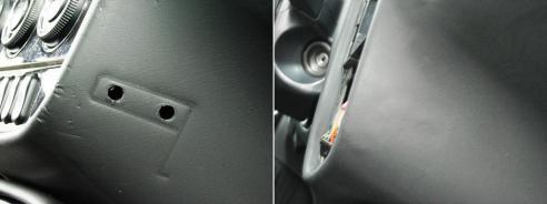 Ремонт пластиковых деталей (до и после)
