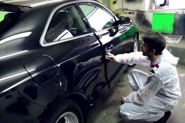 Покраска автомобиля Пластидипом