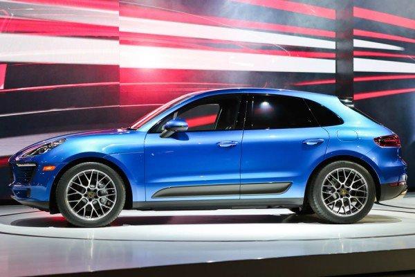 Карбоновые вставки Porsche Macan