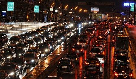 Пробки в России - становятся настоящей проблемой