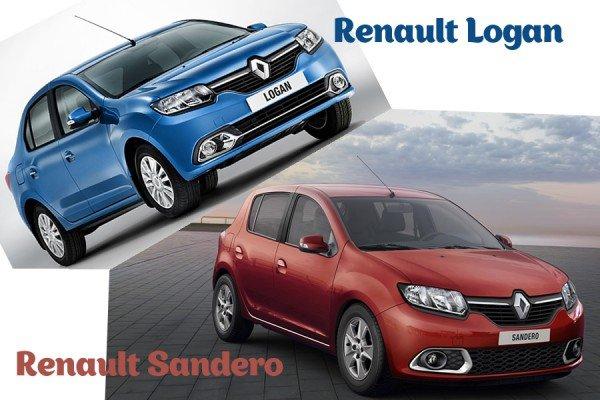 Renault Sandero и Logan