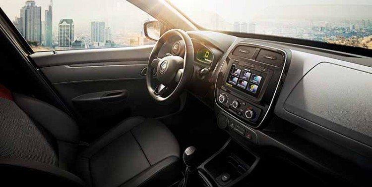 Стильный салон Renault Kwid 2020-2021 года