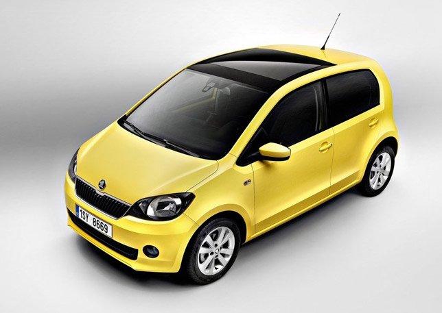 Skoda Citigo - компактный автомобиль, который станет популярным в больших городах