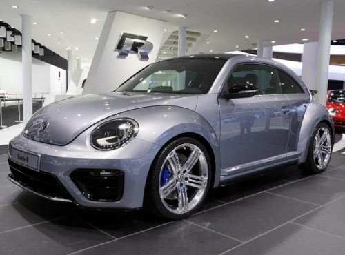 Спортивная модель VW Beetle R Concept