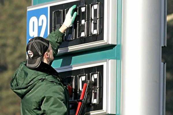 Цены на бензин в мире