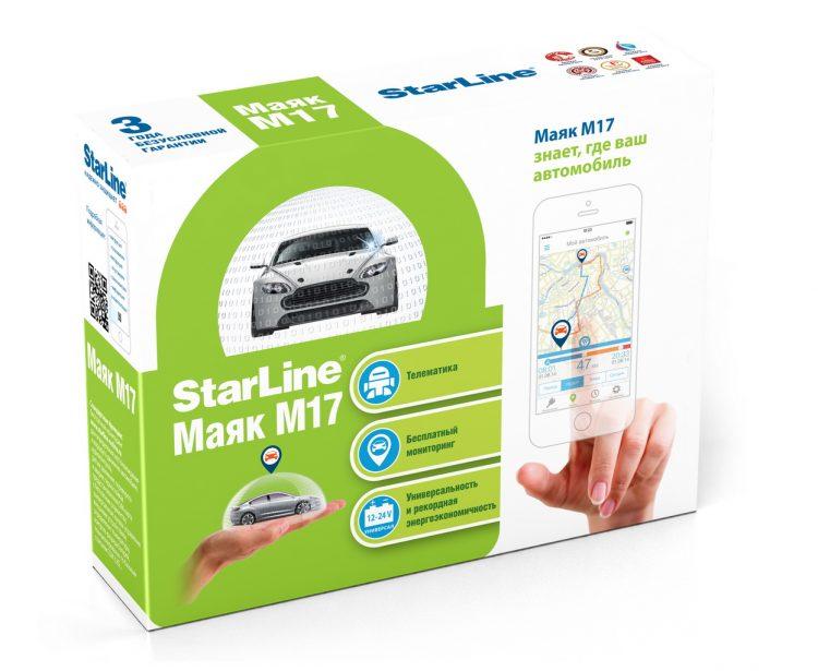 Подкупает возможность установки Starline M17 на легковой и грузовой транспорт
