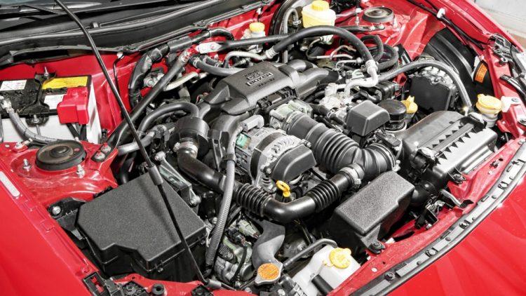 """Фотография """"горячего"""" сердца Тойоты GT"""