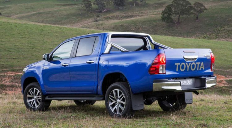 Toyota Hilux (Тойота Хайлюкс) Пикап