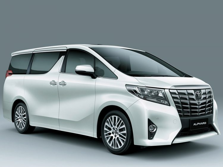 Toyota Alphard (Тойота Альфард) Микроавтобус