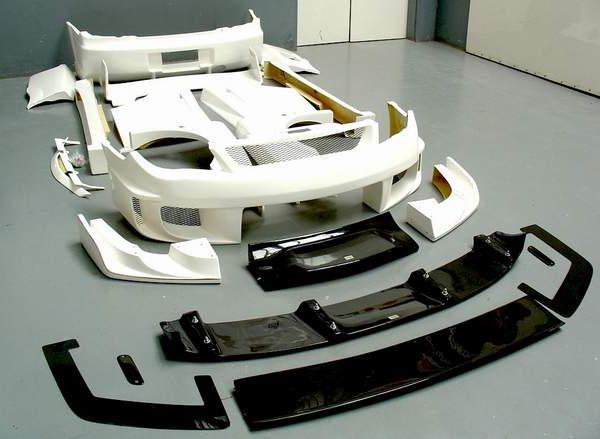 Аэродинамический обвес автомобиля