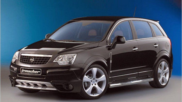 Комплектации Opel Antara 2020-2021 года