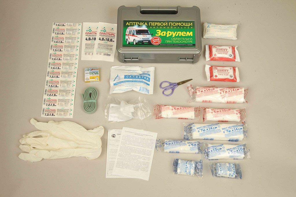 Аптечку можно дополнять лекарственными средствами по усмотрению автовладельца
