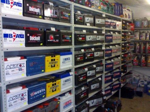 В магазинах представлен широкий ассортимент аккумуляторов
