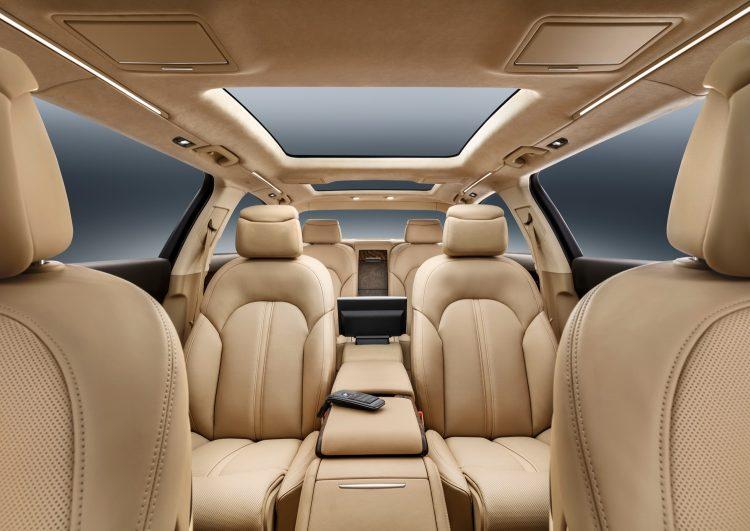 Салон Audi A8 L Extended - невыносимая легкость бытия