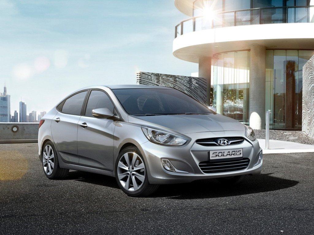 Hyundai Solaris - бюджетный автомобиль