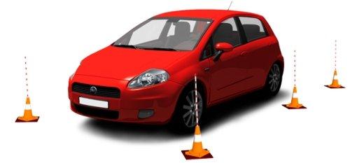 Выбирайте автошколу с качественно оборудованным автодромом