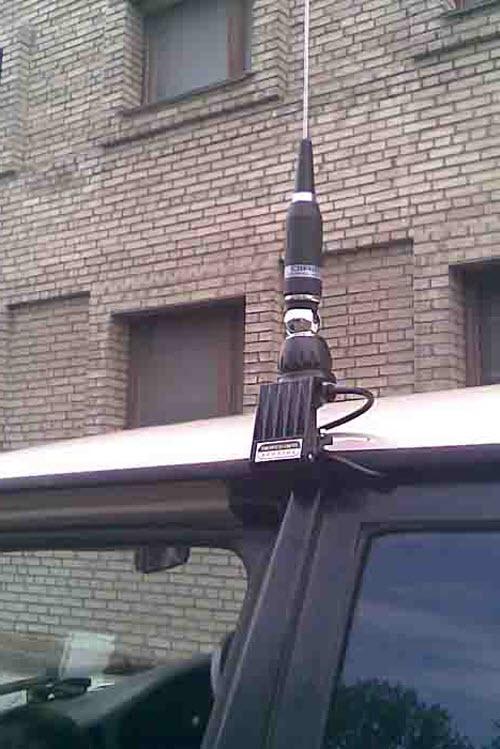 Есть множество вариантов крепления антенн
