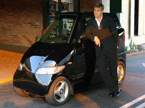Электромобиль Джорджа Клуни