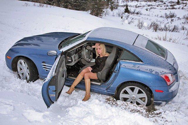 Автомобиль с АКПП зимой рискует застрять в сугробе