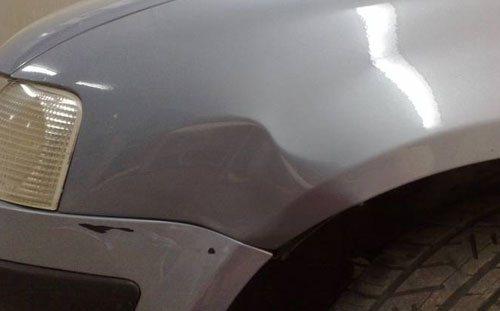Устранить небольшую вмятину на авто можно самостоятельно