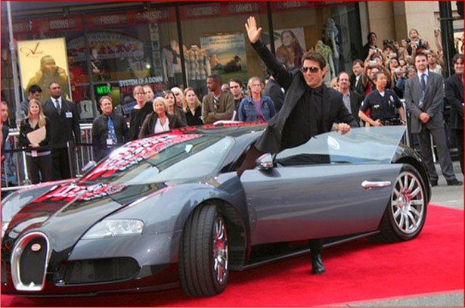 Автомобили знаменитостей подчеркивают их статус