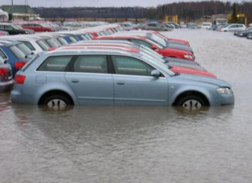 Такая картина к сожалению не редкость в последние годы, а ведь многие из этих авто найдут своих покупателей