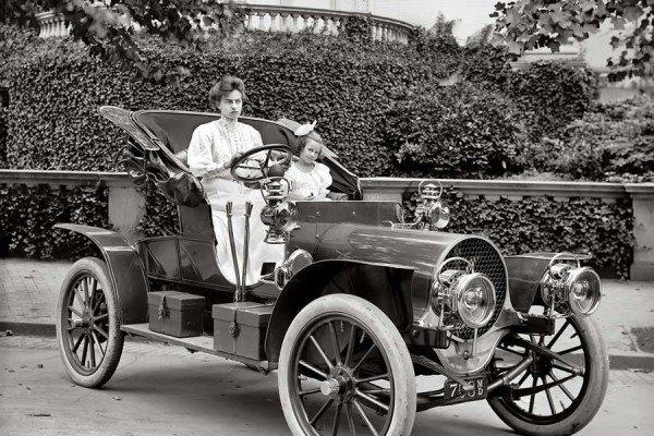 Автомобили в начале 20 века